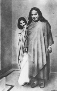 Paramhansa Yogananda and Anandamayi Ma