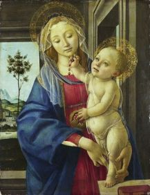 Boticelli Madonna and Child