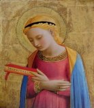 The Virgin Annunciate, Fra Angelico