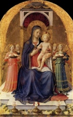 Madonna and child, Fra Angelico