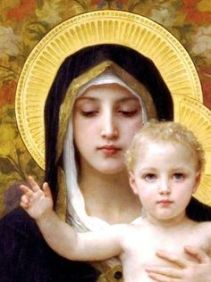 Madonna and Child, William Bouguereau (1825-1905)