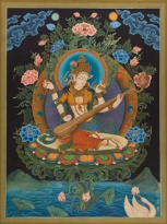Saraswati, Goddess of music, wisdom, learning