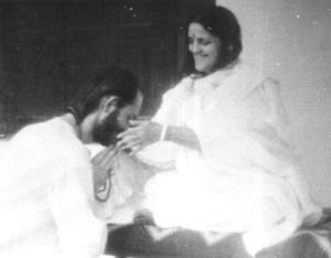 Swami Kriyananda and Anandamayi Ma