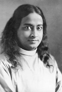 A young Paramhansa Yogananda